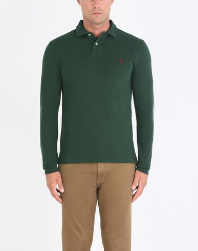 POLO RALPH LAUREN Slim Fit Weathered Mesh Polo Polo