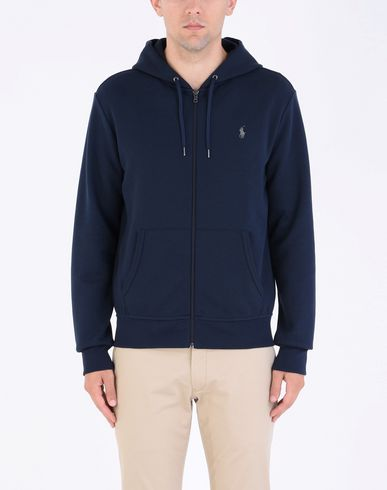 POLO RALPH LAUREN Double Knit Hoodie