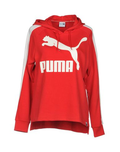 60449fc3307b Puma Archive Logo T7 Hoody - Hooded Track Jacket - Women Puma Hooded ...