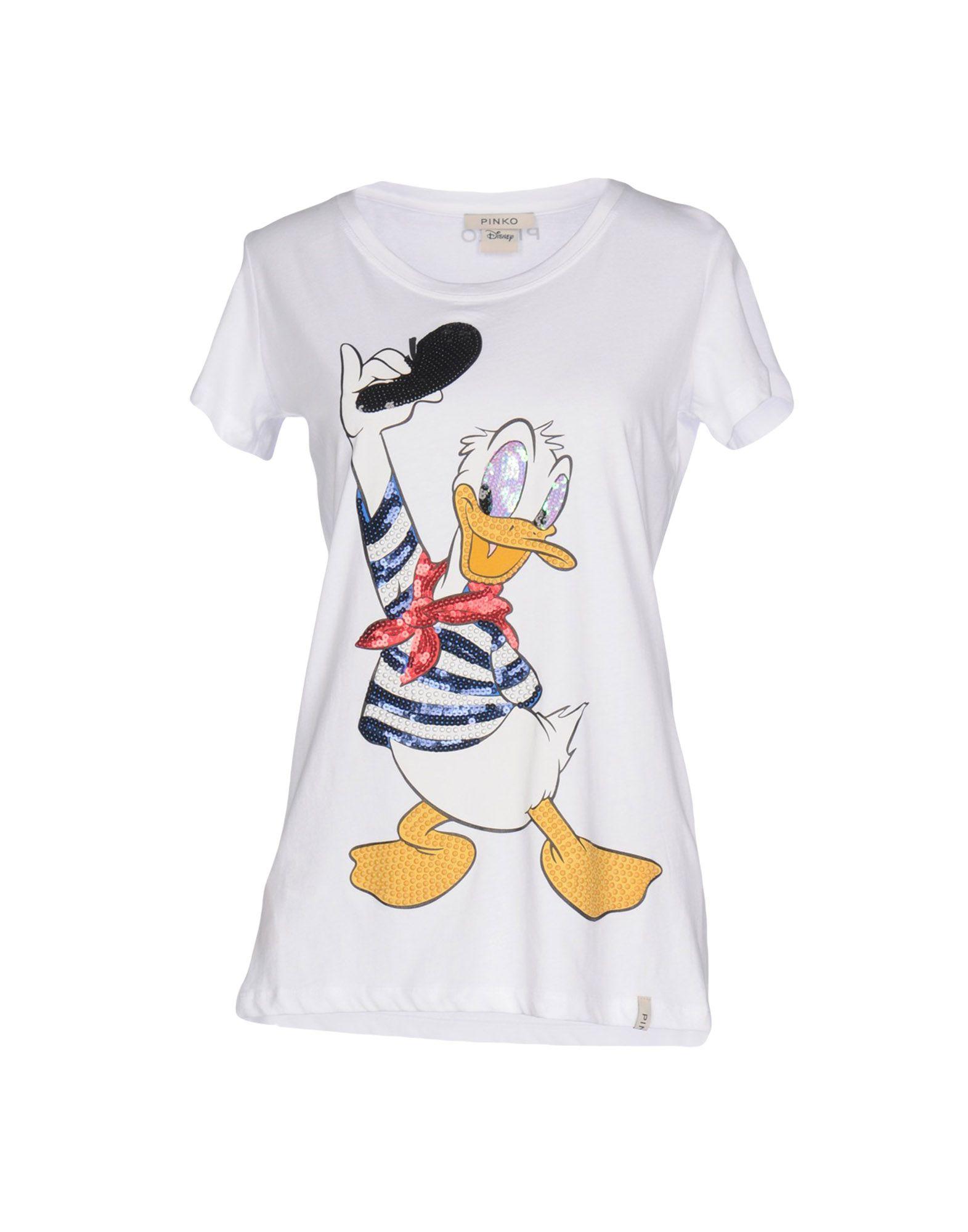 Pinko T-Shirt - Women Pinko T-Shirts online on YOOX United States ... 580659be8c7
