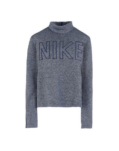 Indigo Long Top Femme Nike Shirt Sleeve Sweat Shirts qH6fP6