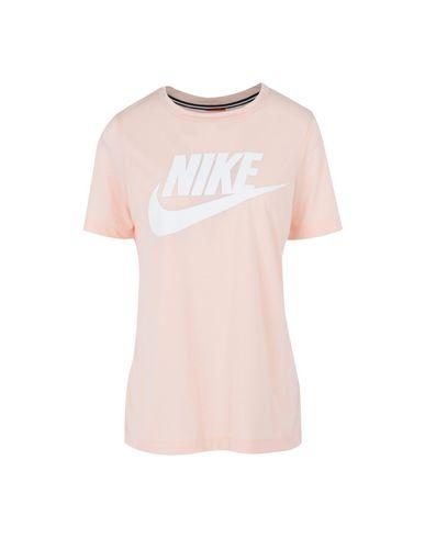 33518025a Camiseta Nike Essential Tee Hybrid - Mujer - Camisetas Nike en YOOX ...