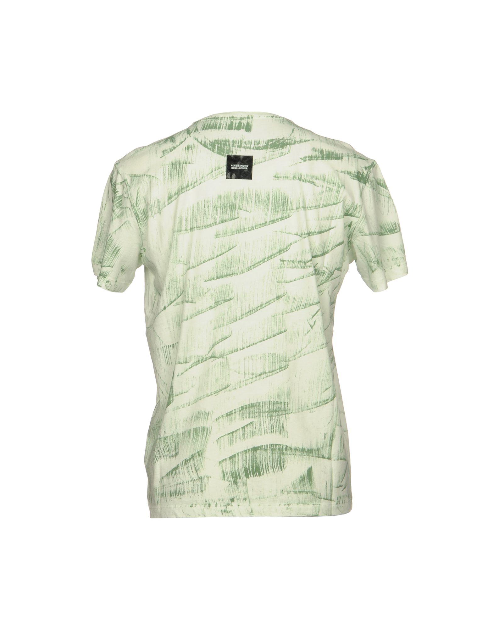 T-Shirt Alessandro Dell'acqua - Uomo - Dell'acqua 12080044EI af795e