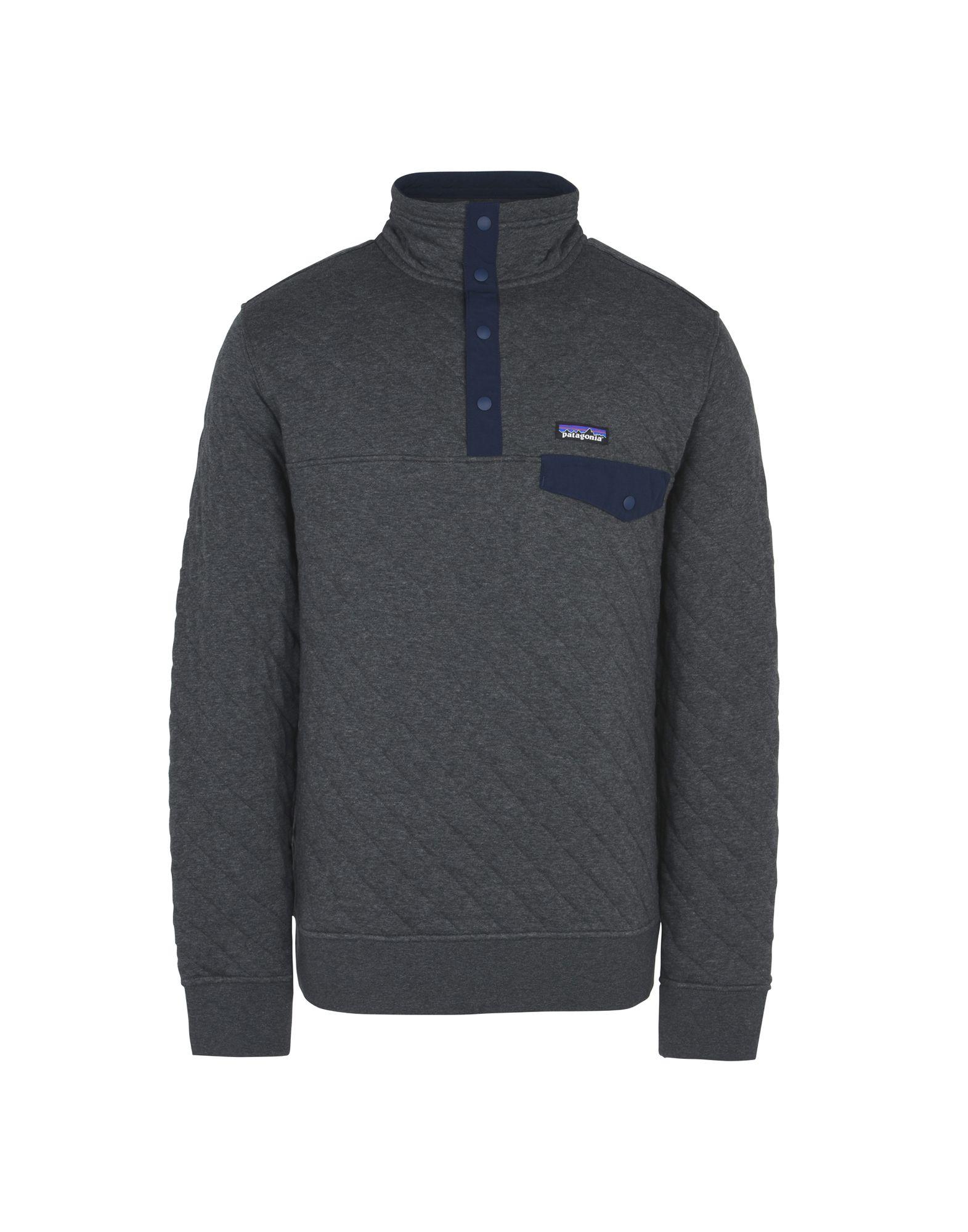 Felpa Patagonia Ms Cotton Quilt Snap-T Pullover - Uomo - Acquista online su