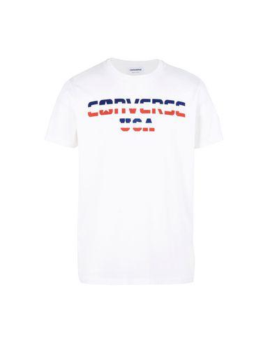 a9c80401a86f Converse All Star T-Shirt Ss Crew Logo Usa - Sport T-Shirt - Men ...