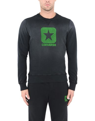 CONVERSE ALL STAR FLEECE CREW SWEATER LOGO DISTRESSED Sudadera