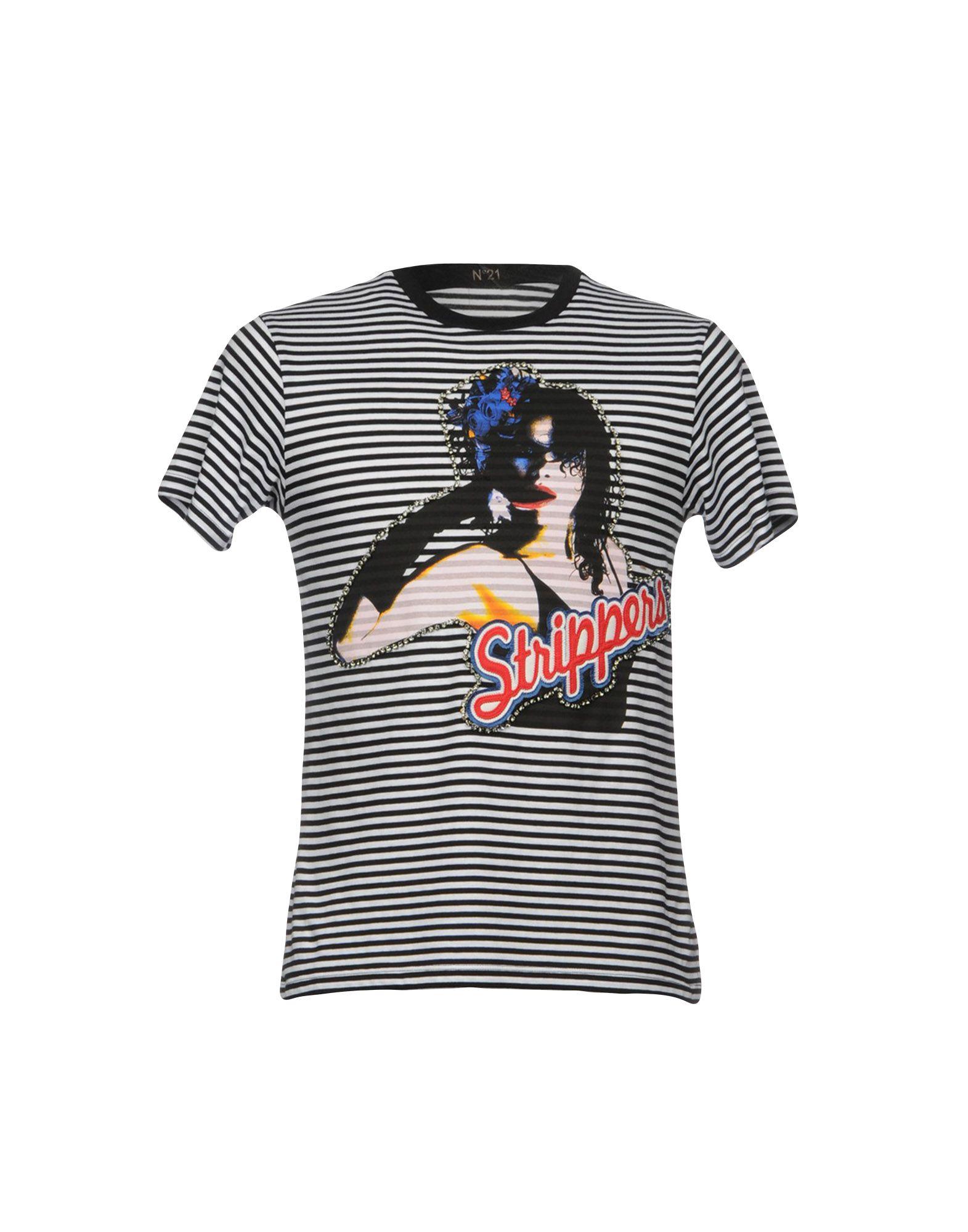 T-Shirt 12088024FG N° 21 Uomo - 12088024FG T-Shirt 284e69