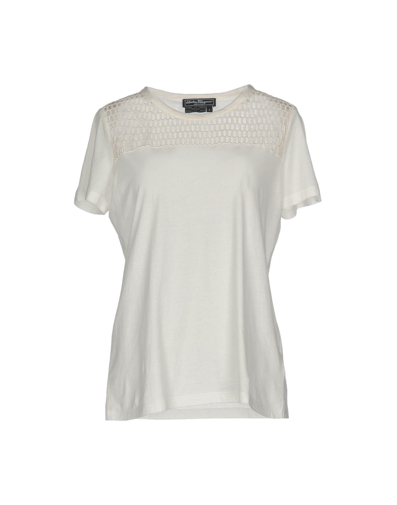 T-Shirt Salvatore Ferragamo Donna - Acquista online su LSB63G