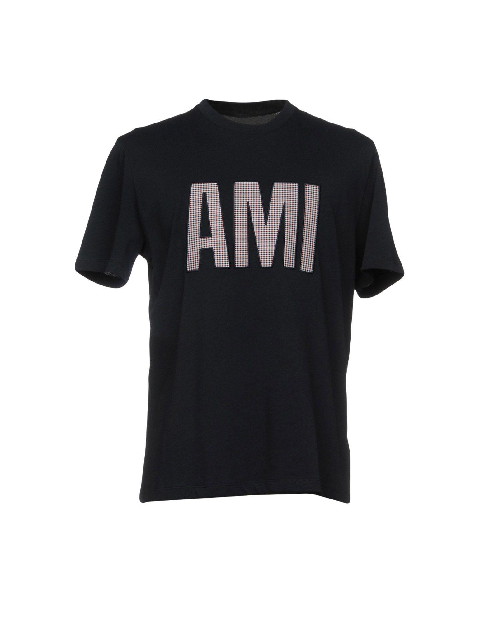 T-Shirt Ami Alexandre Mattiussi Mattiussi Mattiussi uomo - 12088635WU 9c8