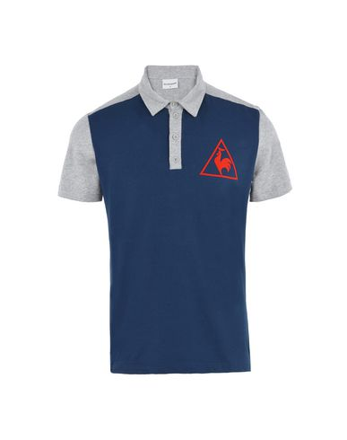 Le Coq Sportif Tri Lf Tennis Polo Ss M - Sports T-Shirt - Men Le Coq ... c087baa47