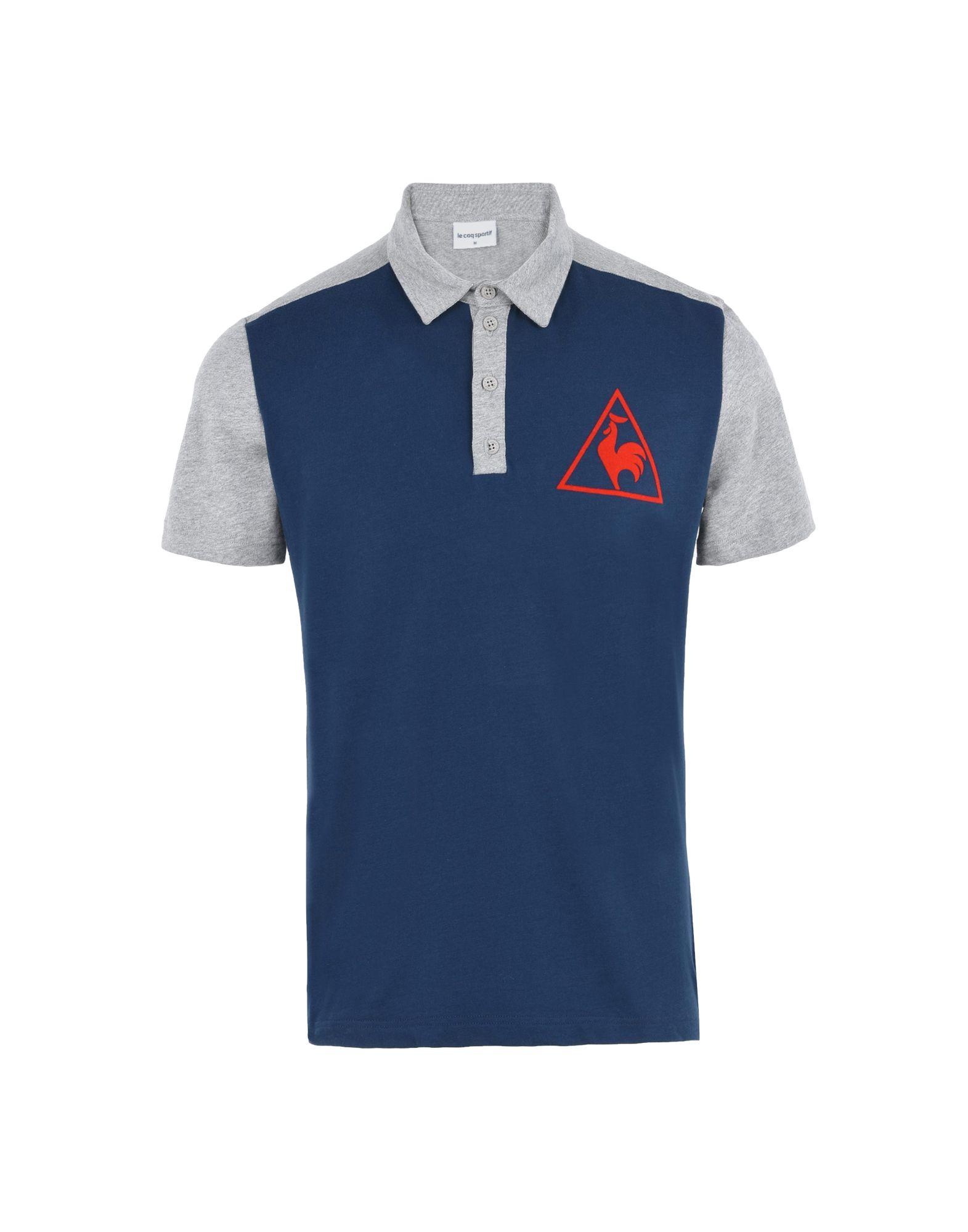T-Shirt Sportiva Le Coq Coq Coq Sportif Tri Lf Tennis Polo Ss M - uomo - 12088761MS 9e1