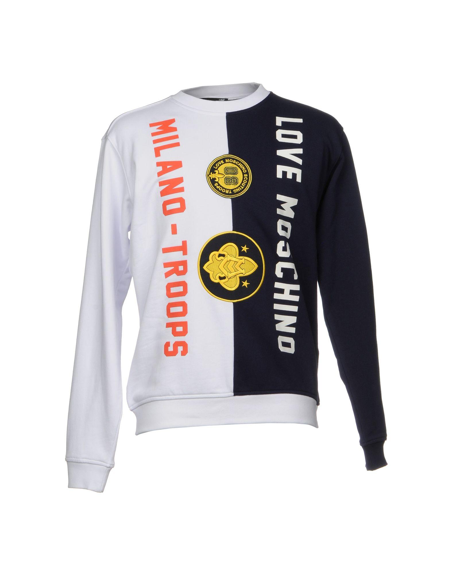 Felpa Love Moschino Uomo - Acquista online su