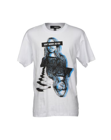 Cara D X Dkny T Shirt Men Cara D X Dkny T Shirts Online On Yoox