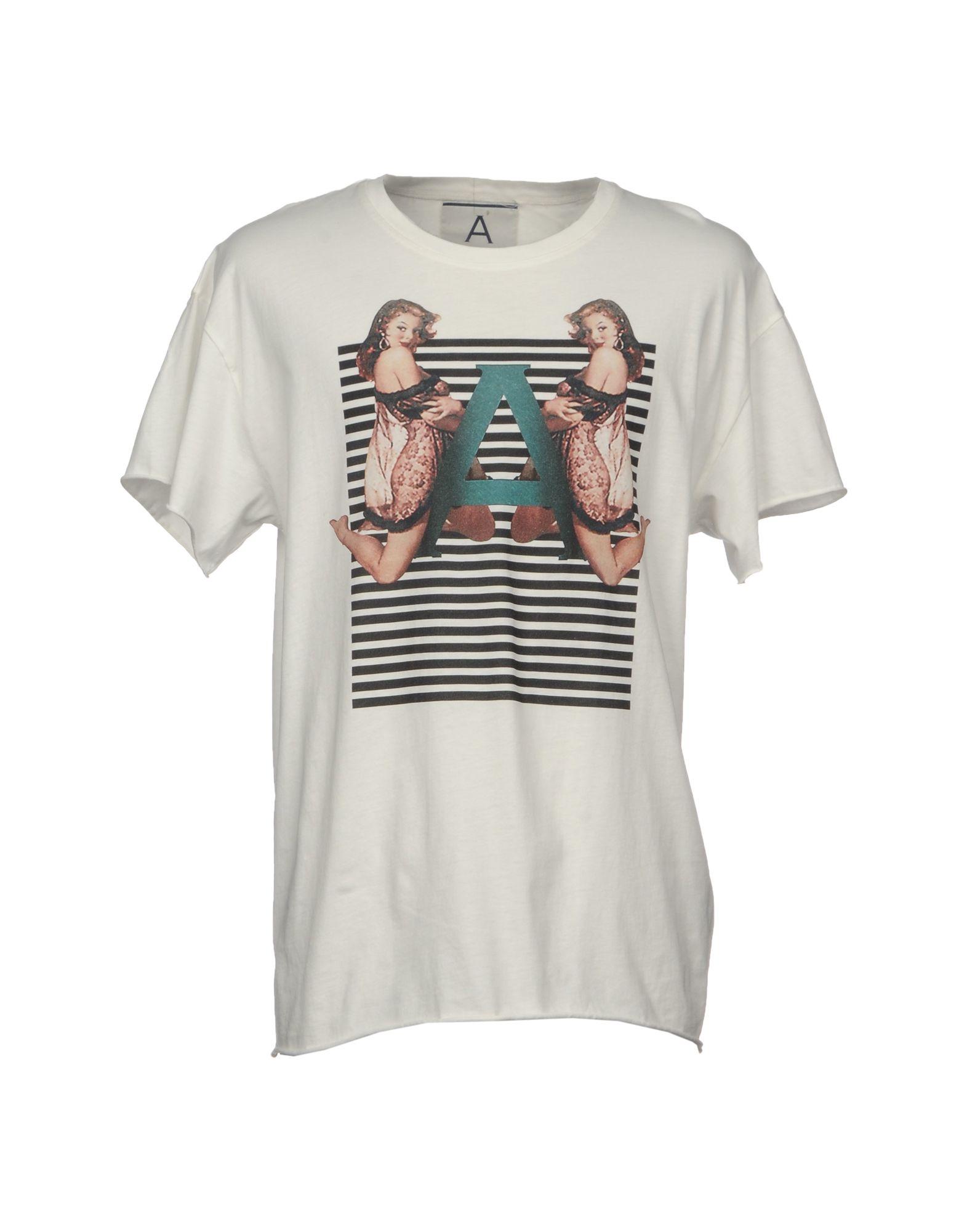 T-Shirt Andrea Pompilio Pompilio Andrea Uomo - 12089546GW b42433