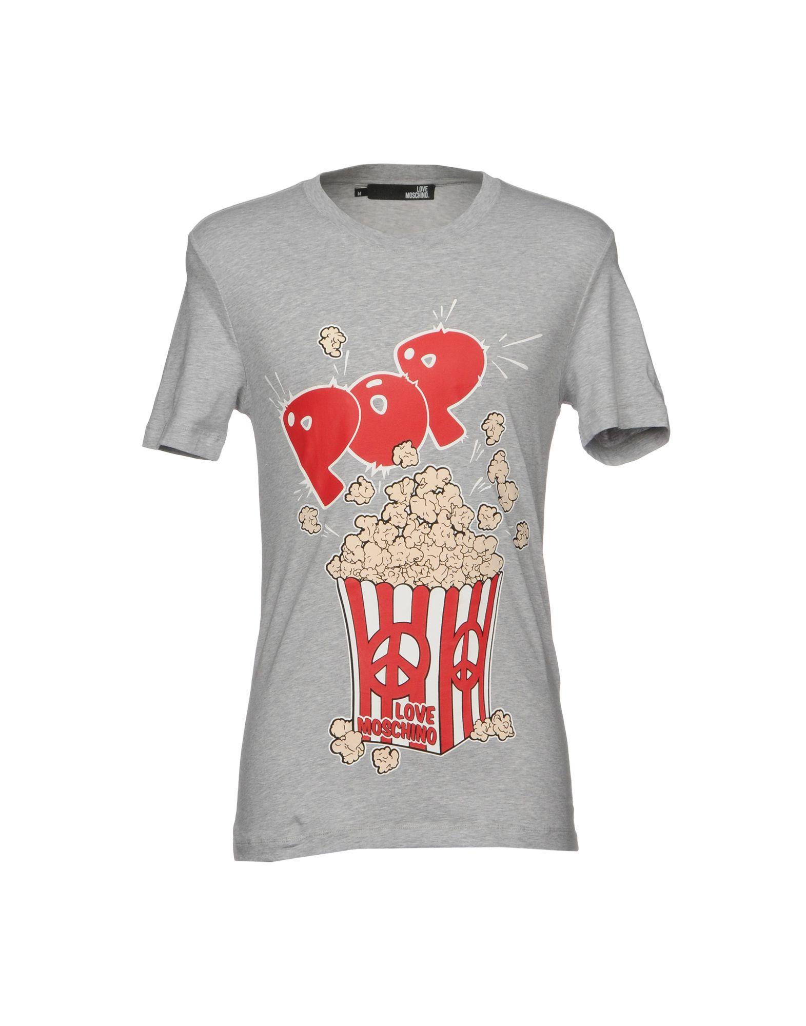 T-Shirt 12090002GD Love Moschino Uomo - 12090002GD T-Shirt 1e9a9b