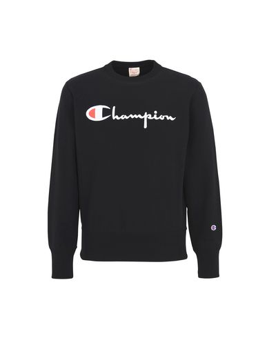 Logo Champion In Reverse Camicia Felpa Con p7x5FqxA