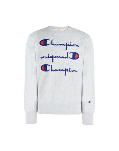 783d74763 CHAMPION REVERSE WEAVE. CREWNECK SWEATSHIRT MULTI LOGO. Sports T-shirt