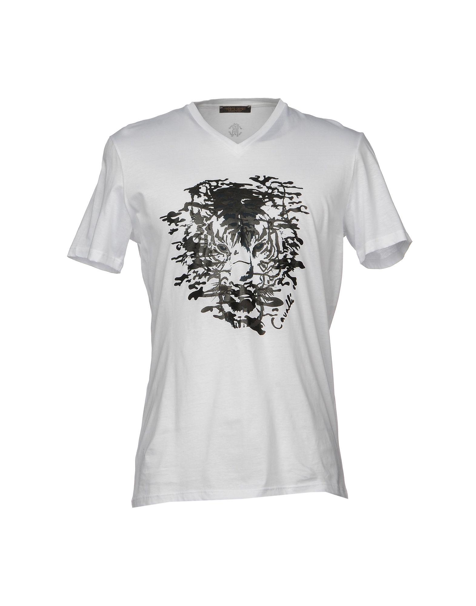 T-Shirt Roberto Cavalli Beachwear Uomo - Acquista online su