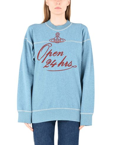 VIVIENNE WESTWOOD ANGLOMANIA SQUARE SWEATER 24 HOURS PRINT	 Sudadera