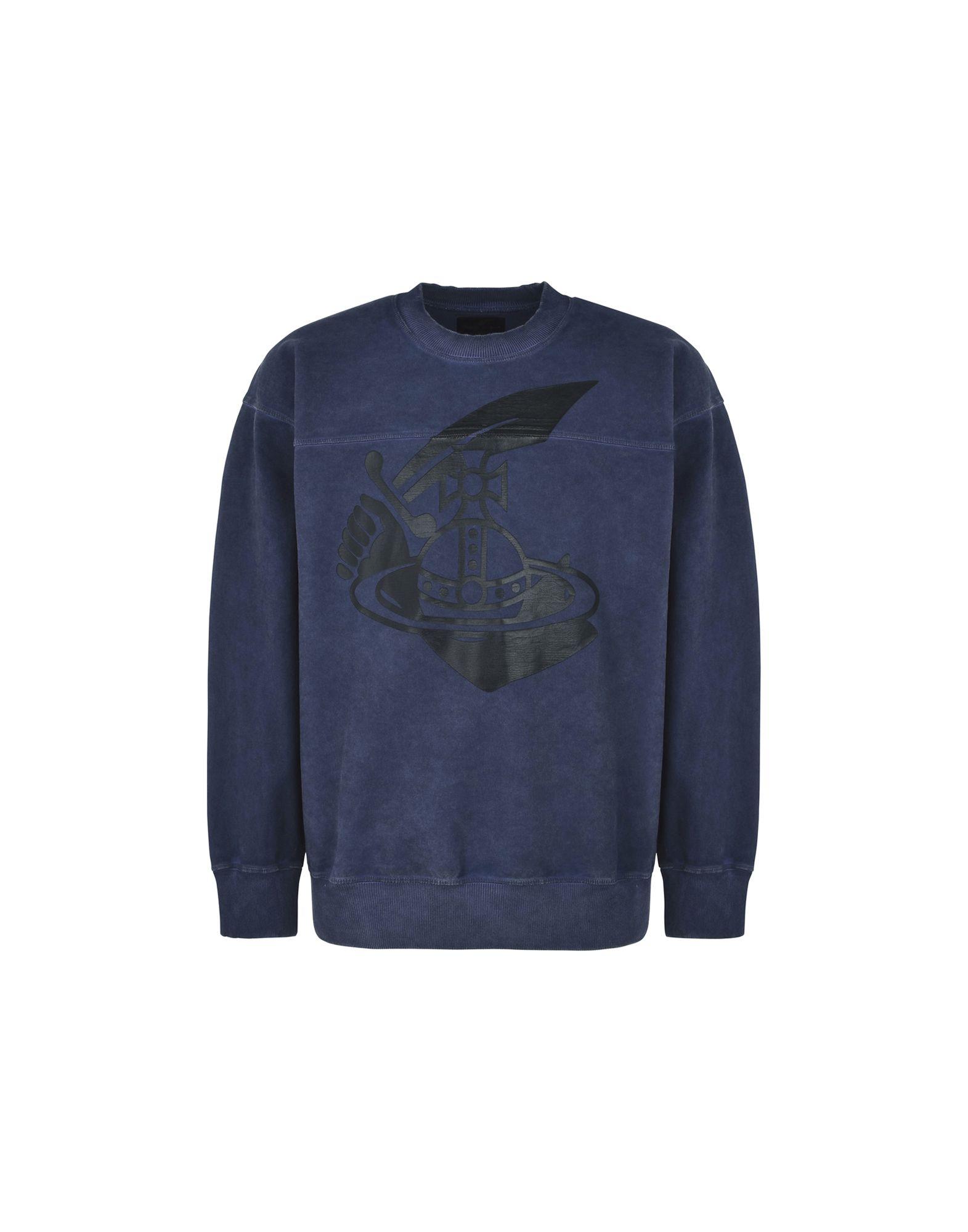 Felpa Vivienne Westwood Anglomania Square Sweater Arm & Cutlass Print - Uomo - Acquista online su