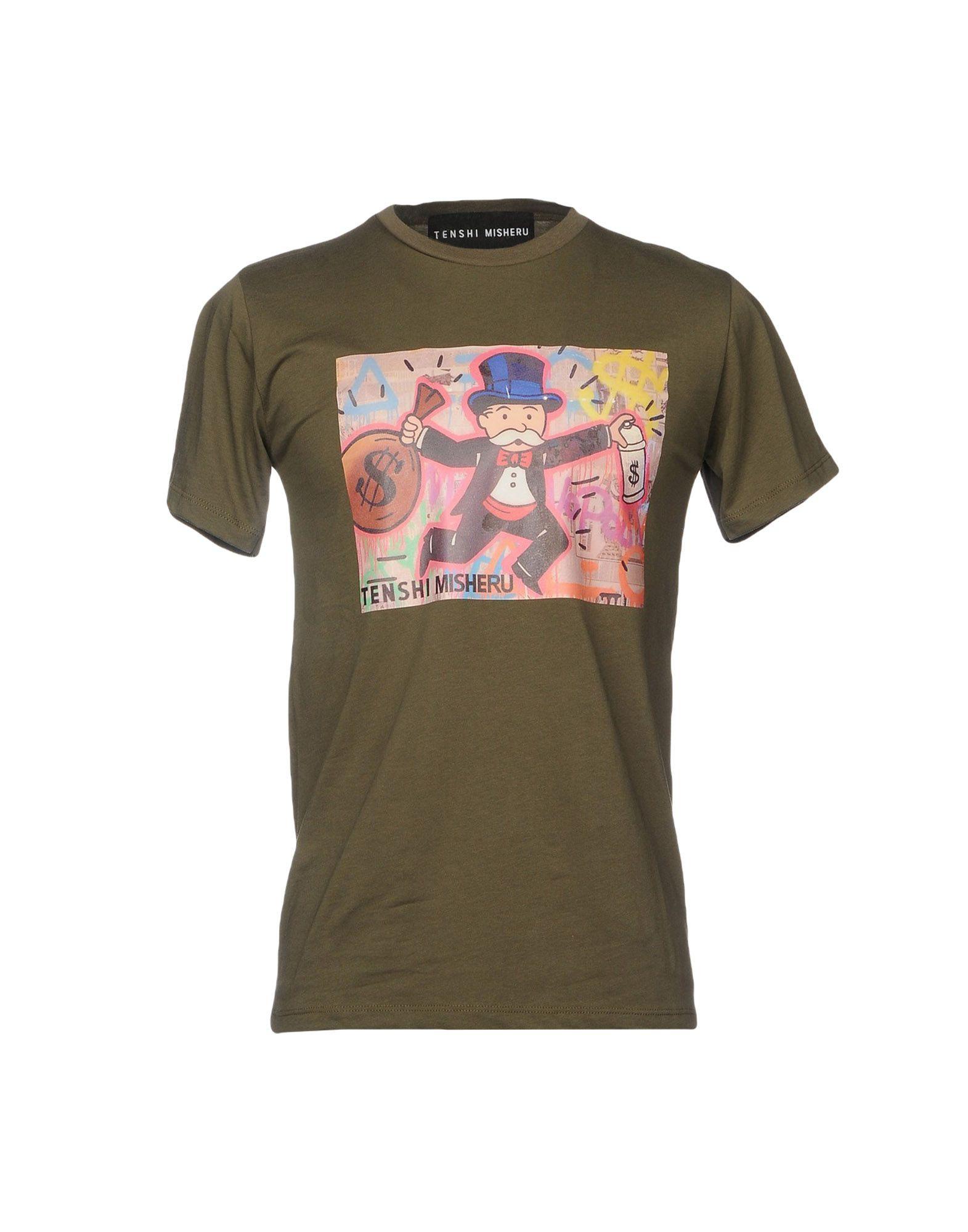 T-Shirt Tenshi Misheru Misheru Misheru Uomo - 12103489MJ 53af72