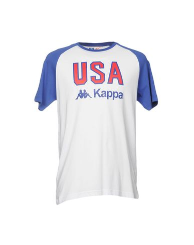 Kappa Camiseta gratis frakt populær VM73R0X3