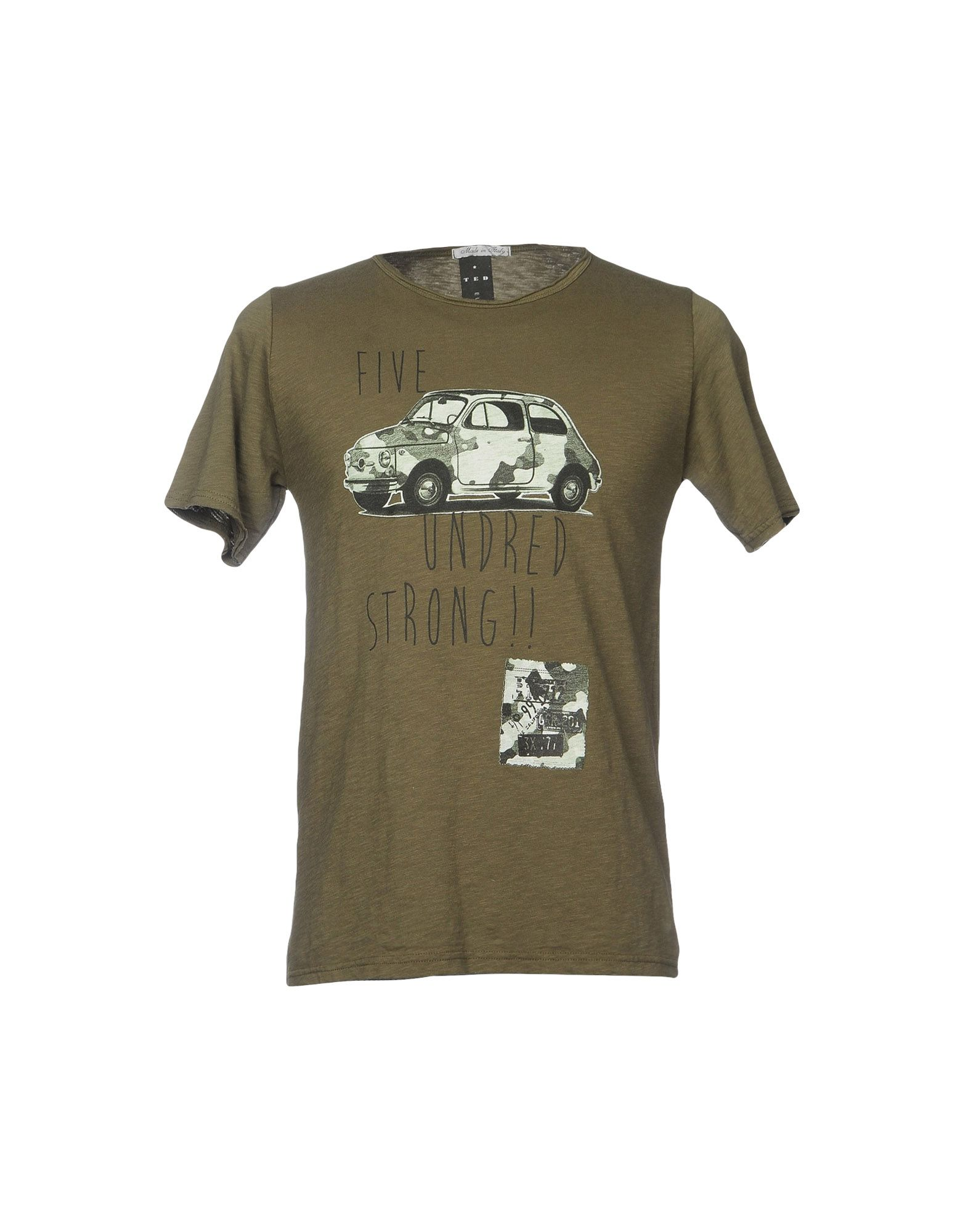 T-Shirt Ted Europe Europe Ted Uomo - 12104606MR e0e9e4
