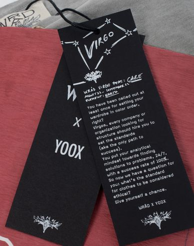 WRÅD x YOOX Virgo 2018, GRAPHI-TEE�?Kit T-Shirt