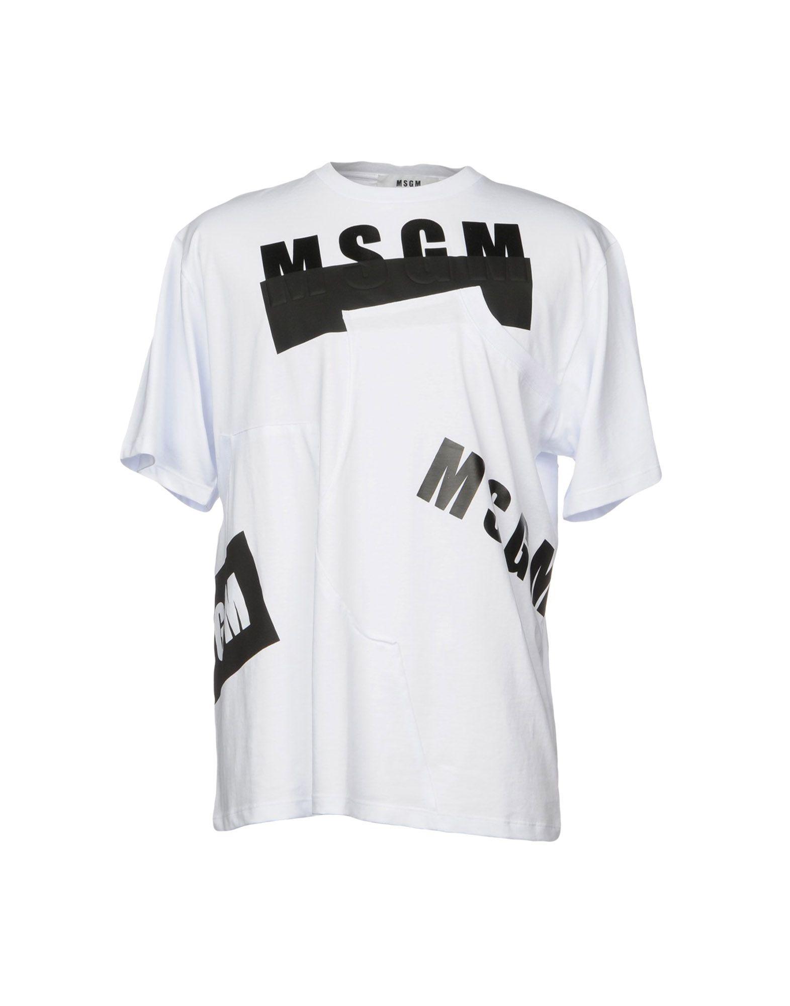 T-Shirt Msgm Uomo - Acquista online su