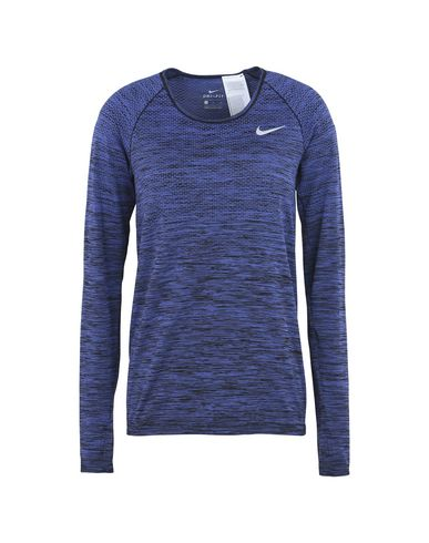 0e2e4ce7e6 Nike Dri Fit Knit Top Long Sleeve - Sports Bras And Performance Tops ...