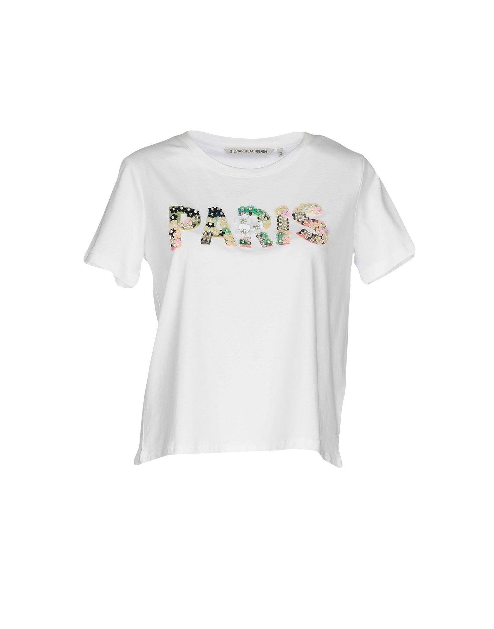 T-Shirt Silvian Heach damen - 12116225BE