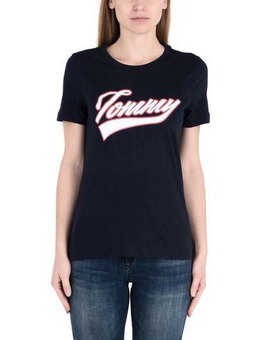 TOMMY HILFIGER TOMMY LOGO SCRIPT PRT TEE SS Camiseta
