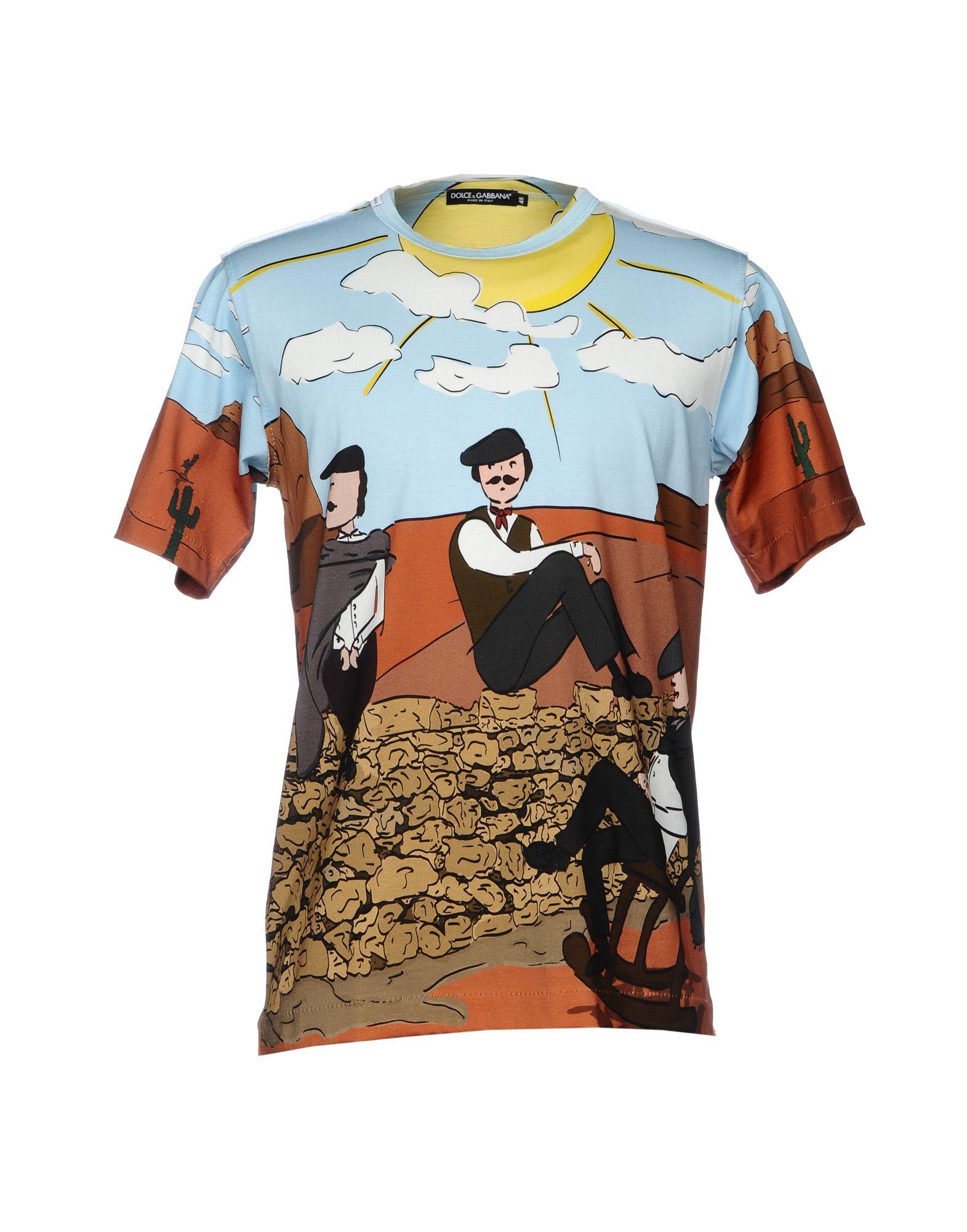 T-Shirt Dolce - & Gabbana Uomo - Dolce 12124409CF 176b3d
