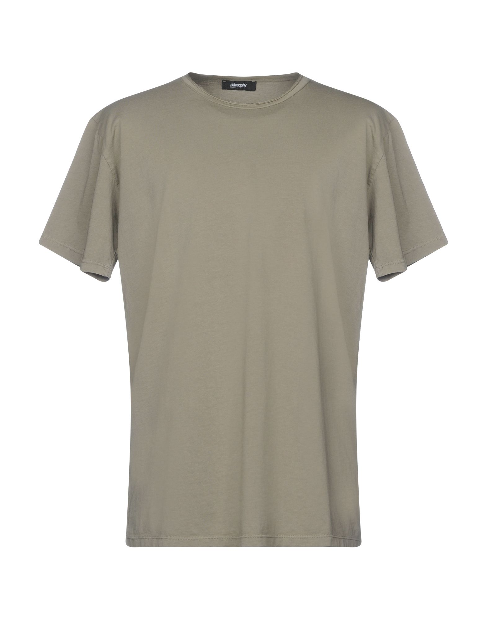 T-Shirt Stilosophy Industry 12124845RE Uomo - 12124845RE Industry 01f76a