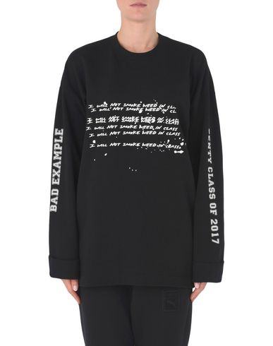 FENTY PUMA by RIHANNA LS GRAPHIC CREW NECK T-SHIRT Sweatshirt