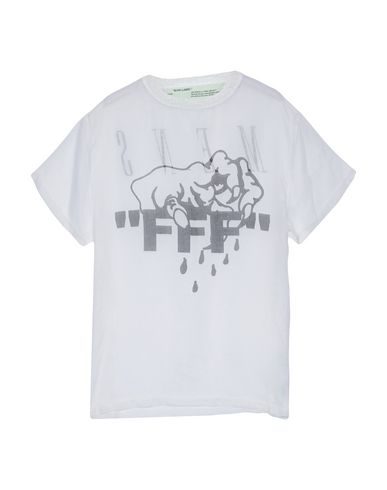 Off-White™ T-Shirt - Women Off-White™ T-Shirts online on YOOX United ... 38c5e35330