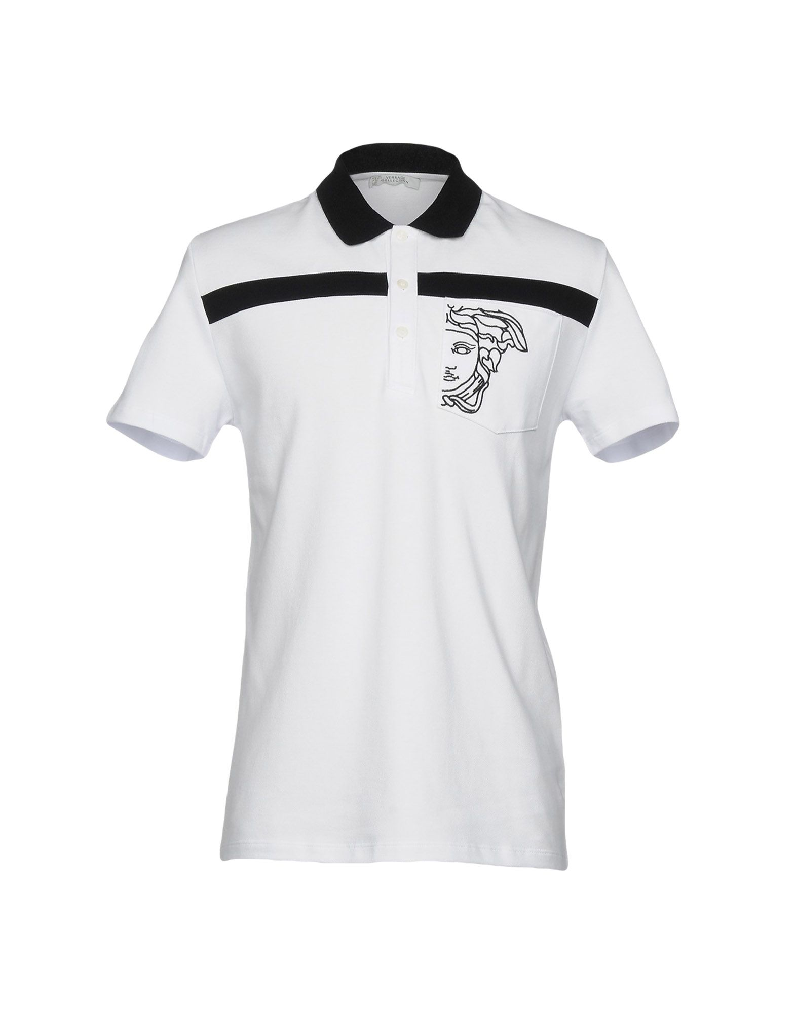 45de1a416e93 VERSACE COLLECTION · Polo shirt.   184.00. YOOX PRICE. YOOX offers a  curated selection of end of season clothing and ...