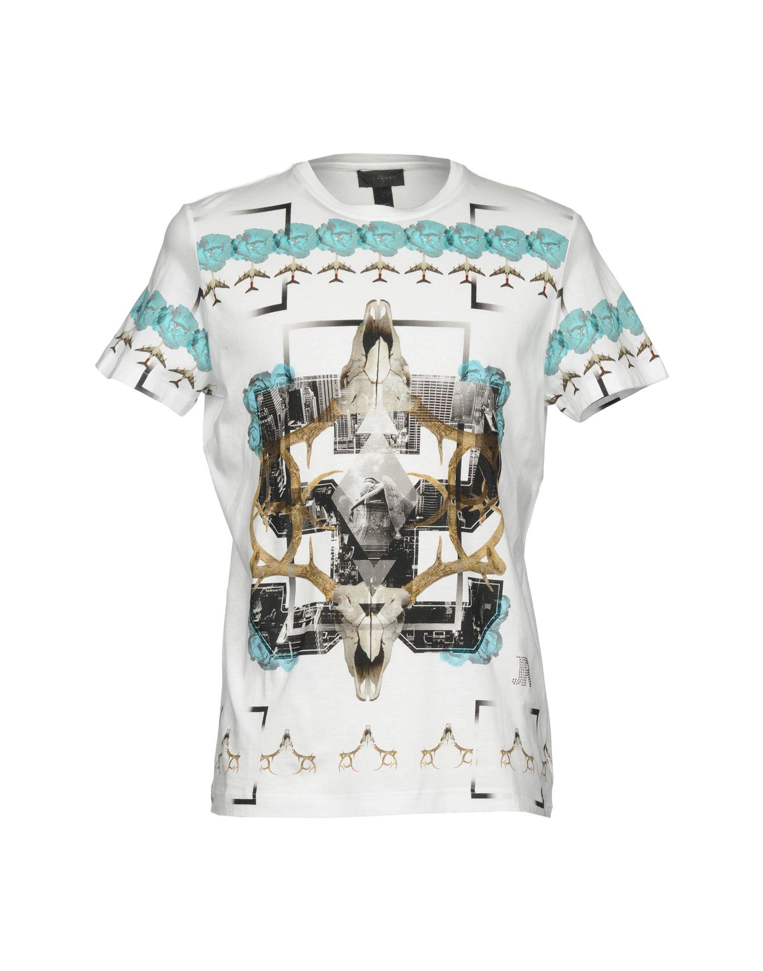 T-Shirt John Richmond Uomo - 12131356OT 12131356OT - 460a4d