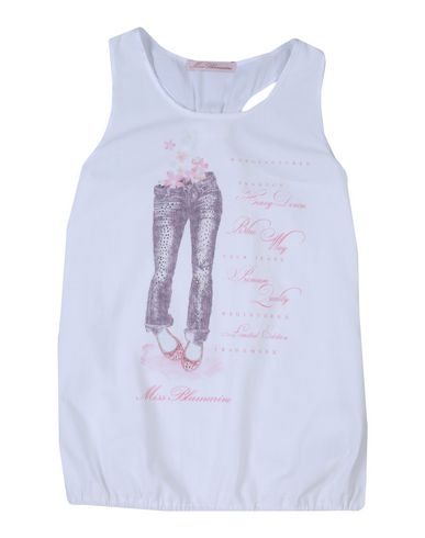 Le Moins Cher MISS BLUMARINE T-shirt imprimé Réductions De Vente À Bas Prix Édition Limitée À Vendre x89N5bgk