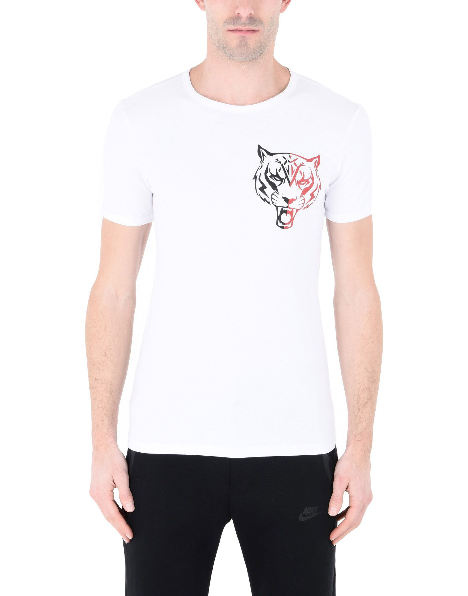 T-Shirt Sportiva Plein Sport T-Shirt Basic Tiger - 12136396UM Uomo - 12136396UM - c37bbe