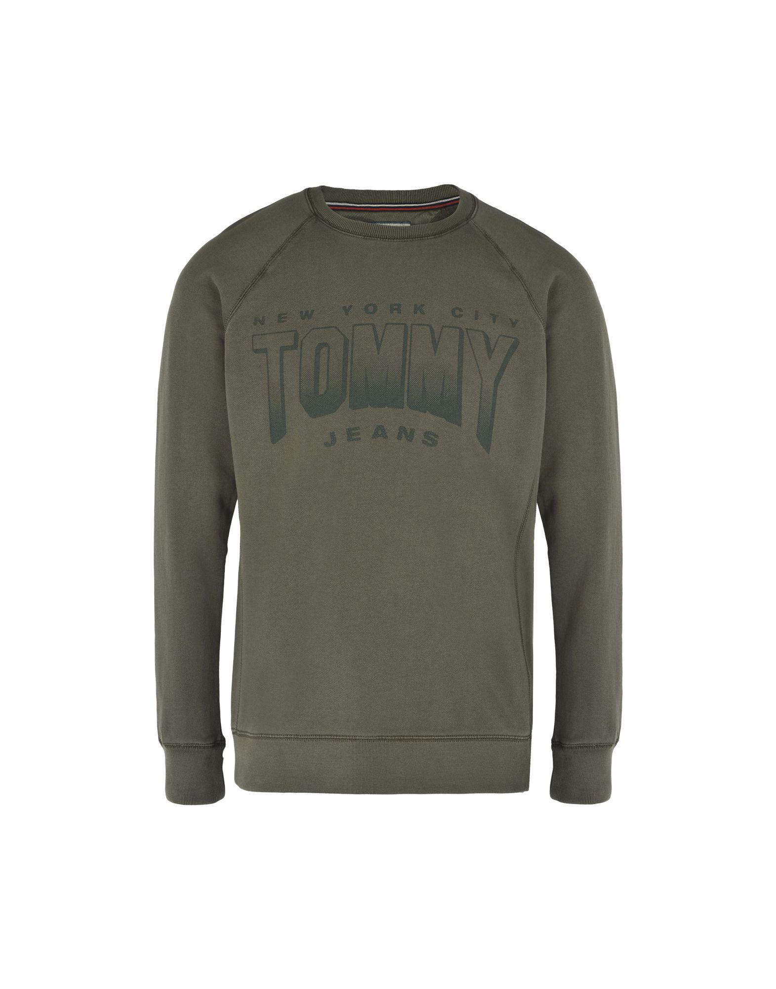 Felpa Tommy Jeans Logo Tjm Gd Logo Jeans Cn Hknit L/S 20 - Uomo - 12139117OU 96f170