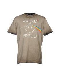 Dsquared2 T-Shirt - Dsquared2 Uomo - YOOX 37e16fa18252