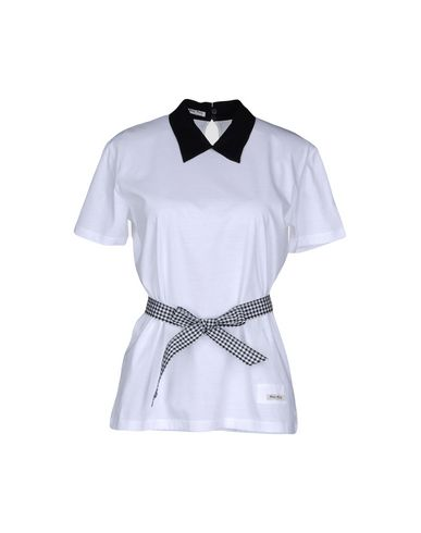 d423576442ec Miu Miu Polo Shirt - Women Miu Miu Polo Shirts online on YOOX United States  - 12139589