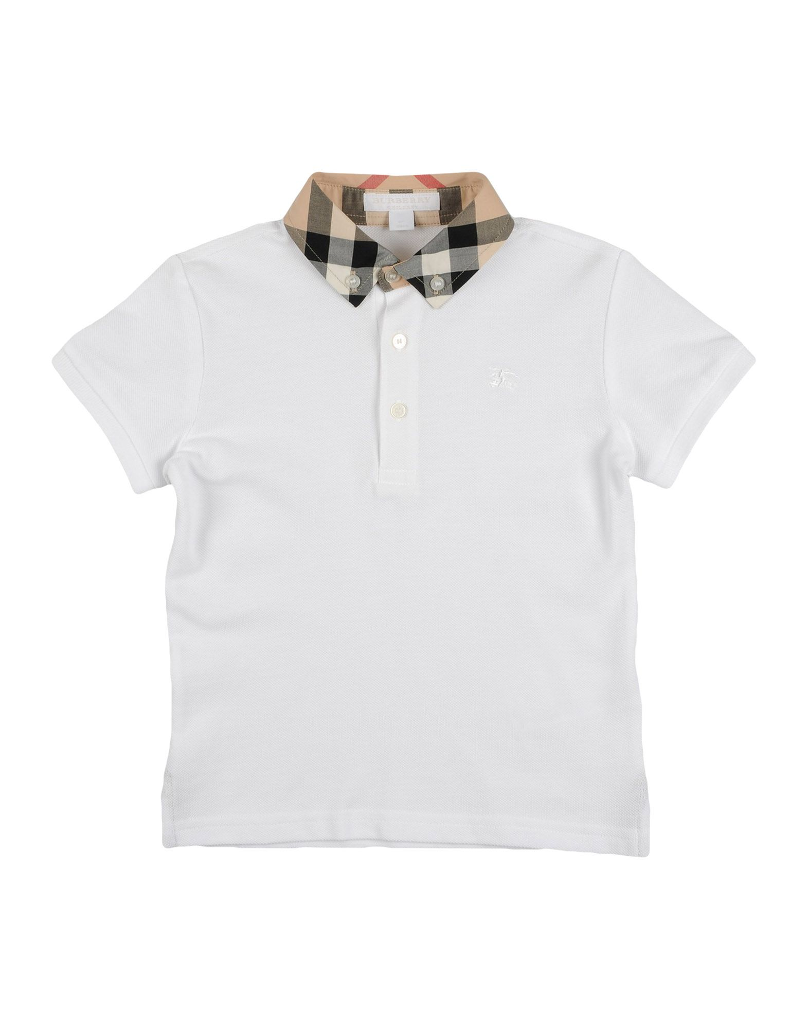 Burberry Polo Shirt Boy 3 8 Years Online On Yoox United States