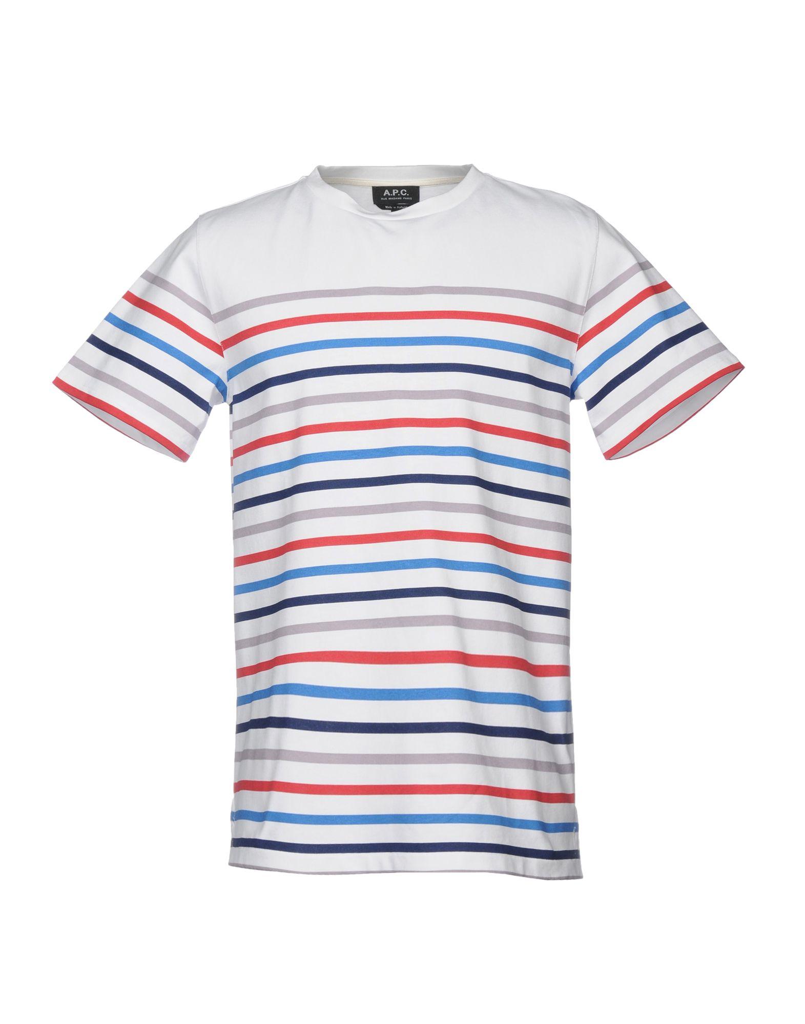 T-Shirt A.P.C. uomo - 12145475FN 12145475FN 12145475FN 391