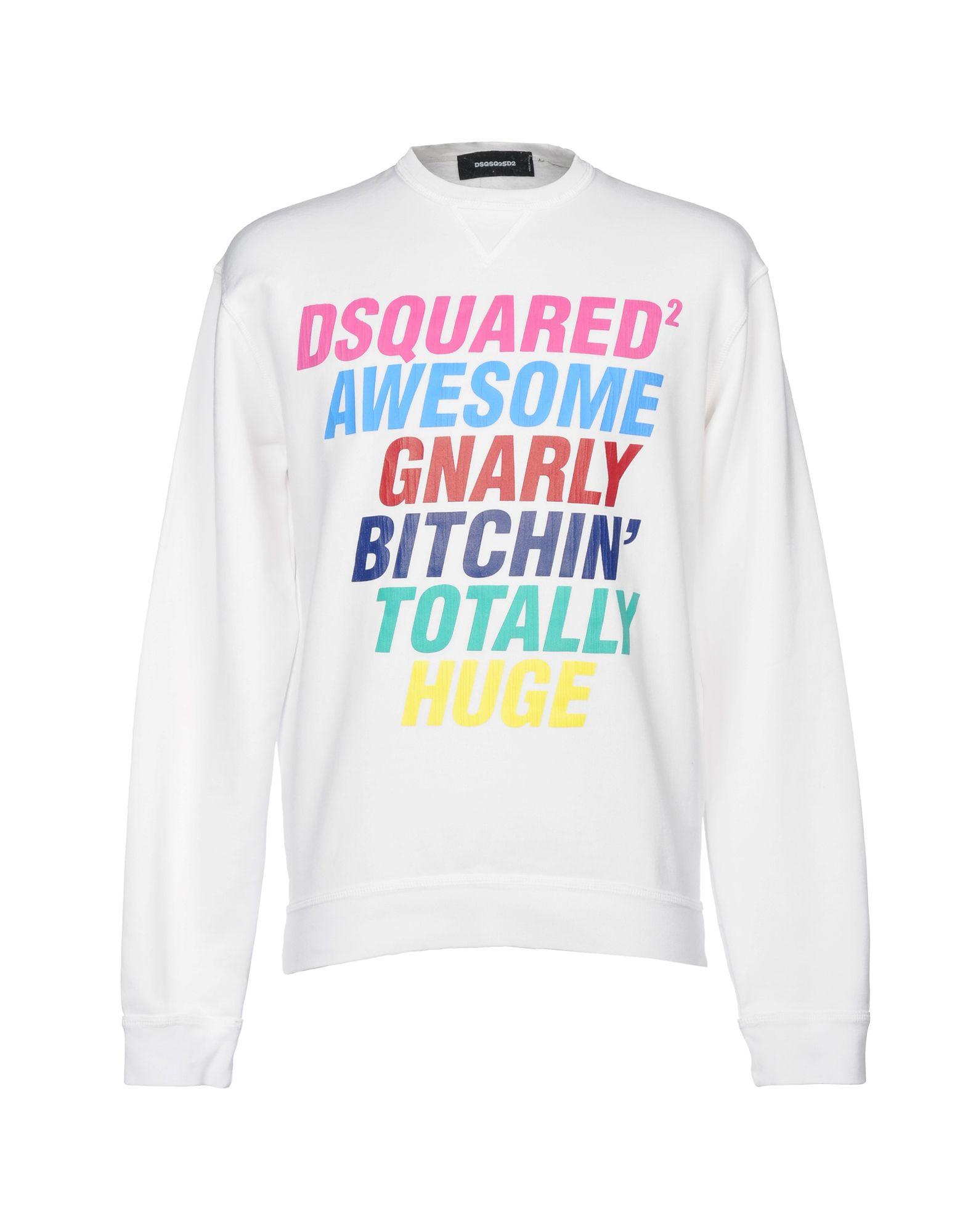 Dsquared2 Sweatshirt - Men Dsquared2 Sweatshirts online on YOOX United  States - 12145544XM