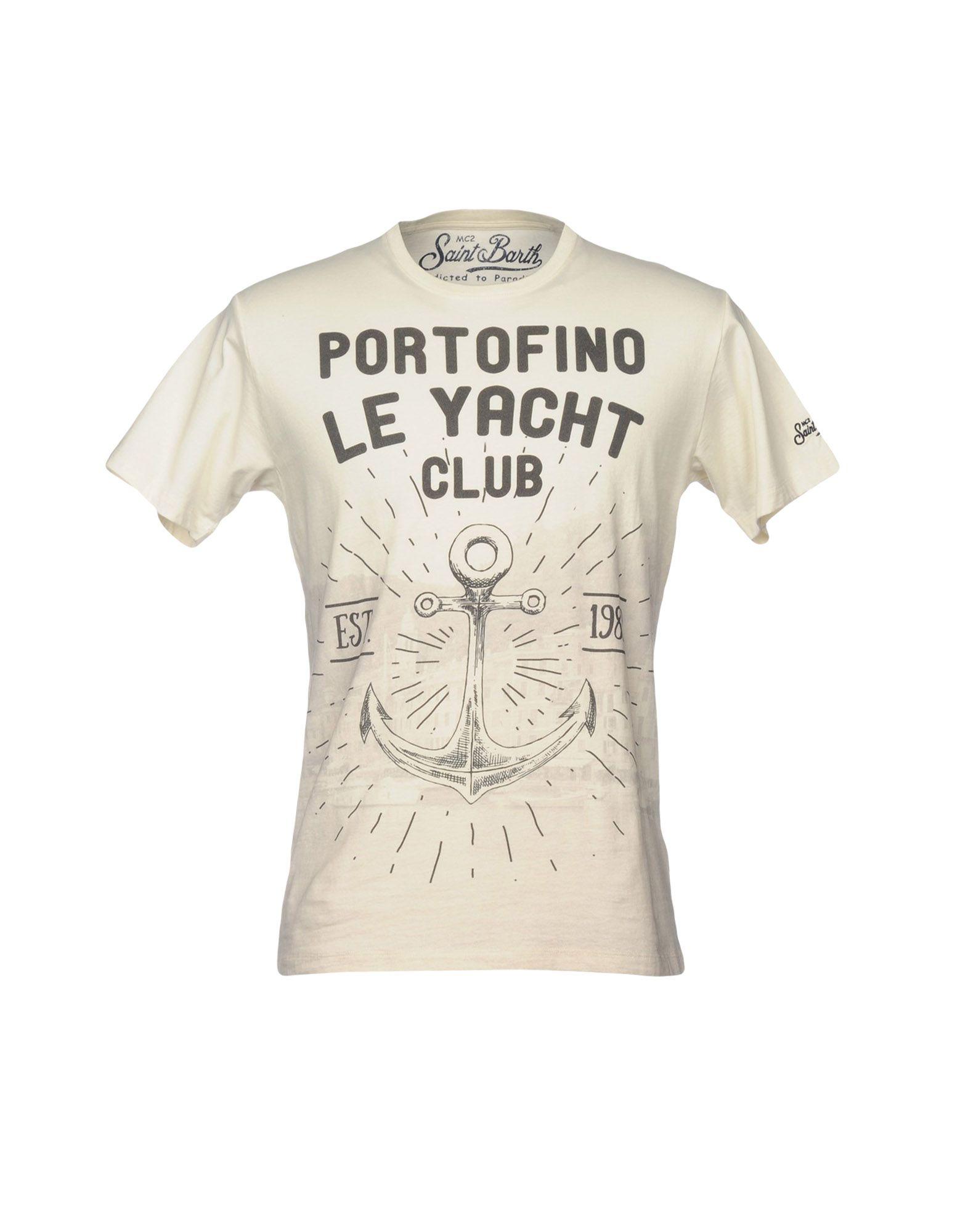 T-Shirt Mc2 12146874JJ Saint Barth Uomo - 12146874JJ Mc2 5dd188