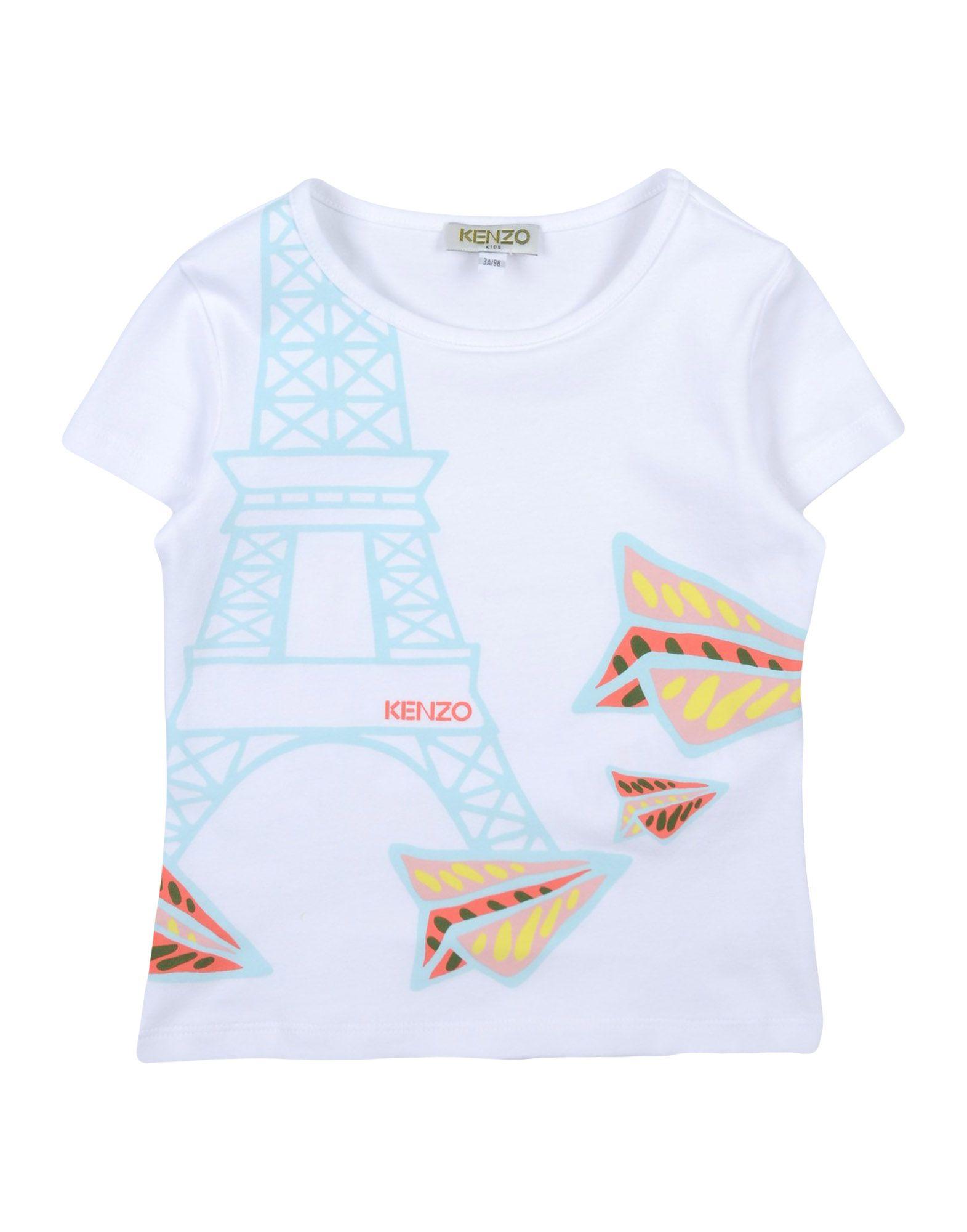 Kenzo T Shirt Girl 3 8 years online on YOOX Netherlands