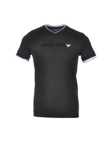 ea3e113dbcff Armani Jeans T-Shirt - Men Armani Jeans T-Shirts online on YOOX ...