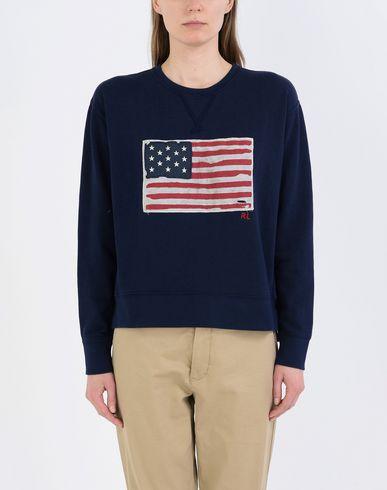 Ansehen Günstig Online Kaufen Billig Authentisch POLO RALPH LAUREN USA Flag Terry Fleece Sweatshirt Freies Verschiffen Klassische #NAME? Sammlungen IGZBYkSN